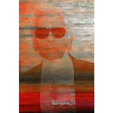 Marmont HIll 'Karl' Painting Print on Wrapped Canvas; 18'' H x 12'' W