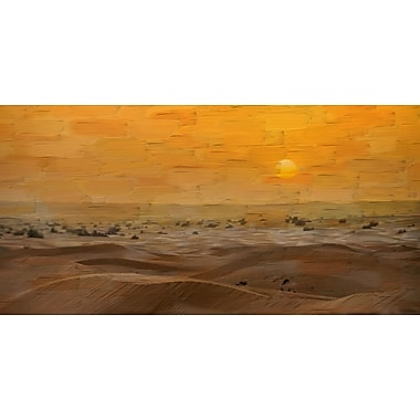 Marmont HIll 'Tarfaya' Painting Print on Wrapped Canvas; 30'' H x 60'' W