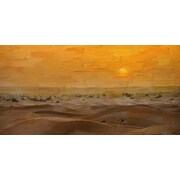 Marmont HIll 'Tarfaya' Painting Print on Wrapped Canvas; 22.5'' H x 45'' W