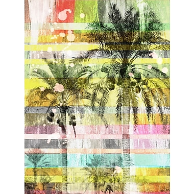 Marmont HIll 'Another Day' by Jen Lee Painting Print on Wrapped Canvas; 60'' H x 40'' W