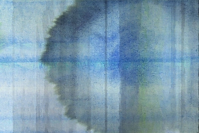 Marmont HIll 'Abstract 1Hh' Painting Print on Wrapped Canvas; 30'' H x 45'' W