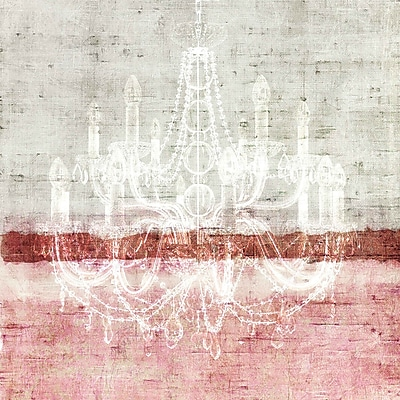 Marmont HIll 'Chandelier' Painting Print on Wrapped Canvas; 32'' H x 32'' W
