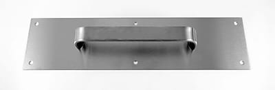 DON-JO MFG INC. Pull Plate; Stainless Steel