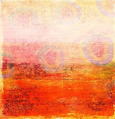 Marmont HIll 'Unakite' Painting Print on Wrapped Canvas; 24'' H x 24'' W