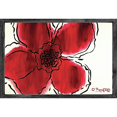 Forest Creations Magnet Print The Flower Within Red Framed Painting Print