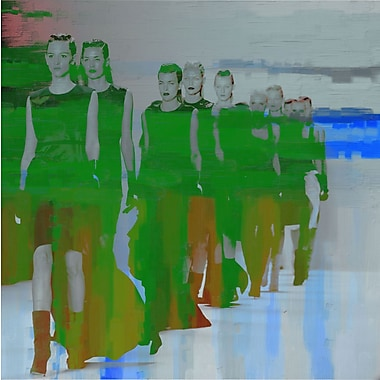 Marmont HIll 'Runway' Painting Print on Wrapped Canvas; 40'' H x 40'' W