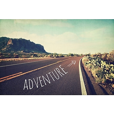 Marmont HIll 'Adventure' Graphic Art Print on Canvas; 12'' H x 18'' W