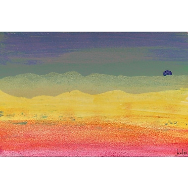 Marmont HIll 'Desert Sun' by Jen Lee Painting Print on Wrapped Canvas; 30'' H x 45'' W