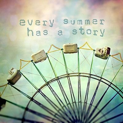 Marmont HIll 'Every Summer Has A Story' by Sylvia Cook Painting Print on Wrapped Canvas