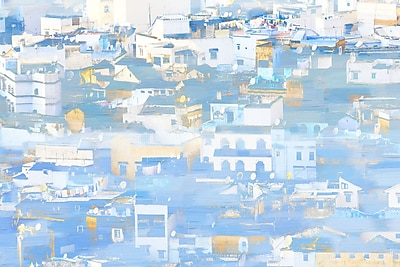 Marmont HIll 'El Paco' Painting Print on Wrapped Canvas; 40'' H x 60'' W