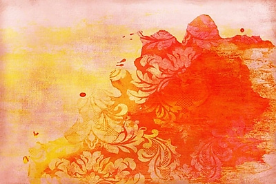 Marmont HIll 'Abstract Red' Painting Print on Wrapped Canvas; 40'' H x 60'' W