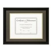 Craig Frames Inc. Document Frames Picture Frame; Cinder / Papyrus