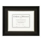 Craig Frames Inc. Document Frames Picture Frame; Black / Silver