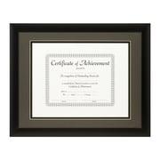 Craig Frames Inc. Document Frames Picture Frame; Cinder / Black