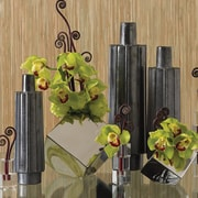 Global Views Ribbed Bottle Vase; Large
