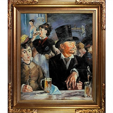 Tori Home Cafe Concert by Edouard Manet Framed Painting Print