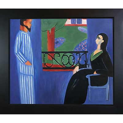 Tori Home The Conversation by Henri Matisse Framed Painting