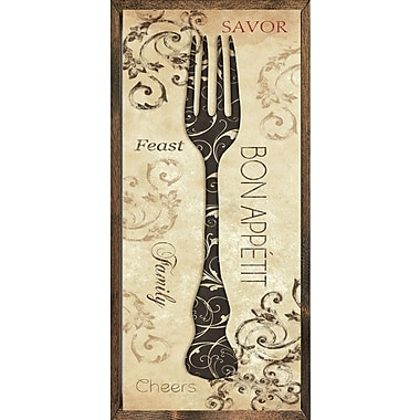 Forest Creations Magnet Bon Appetit Framed Graphic Art