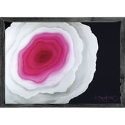 Forest Creations Magnet Print The Flower Within Pink Framed Painting Print