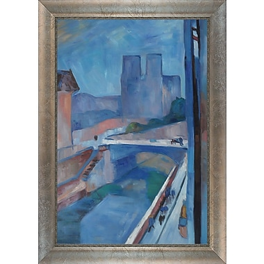 Tori Home Glimpse of Notre Dame by Henri Matisse Framed Painting