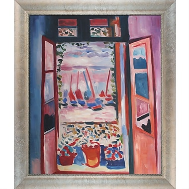 Tori Home Open Window Collioure by Henri Matisse Framed Painting