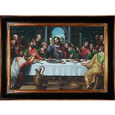 Tori Home The Last Supper by Juan de Juanes Framed Painting Print