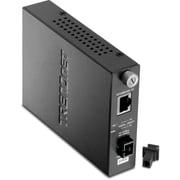 TRENDnet – Convertisseur à fibre monomode, double longueur d'onde, SC, 100Base-TX à 100Base-FX