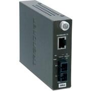 TRENDnet – Convertisseur à fibre monomode, SC, 100Base-TX à 100Base-FX (30 km/18,6 mi)