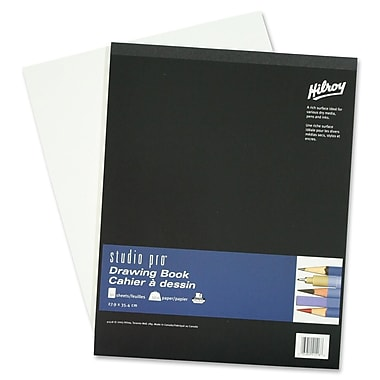 Hilroy Studio Pro Drawing Book, 50 sheets, 11