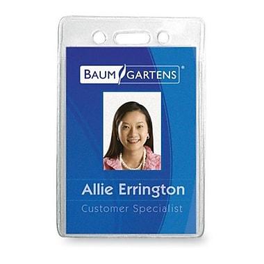 Baumgartens Vinyl ID Badge Holder, 2.38