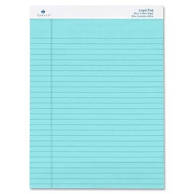 Sparco - Blocs de papier réglé, de format légal, 8,5 po x 11,75 po