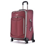 "Olympia Polyester Tuscany Expandable Vertical Rolling Case 25"", Red"
