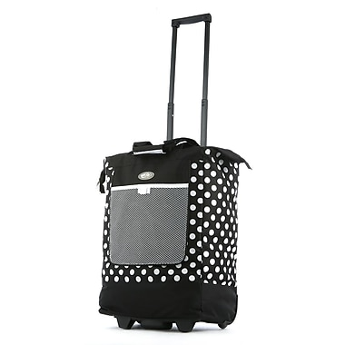 Olympia Nylon Rolling Shopper Tote One Size
