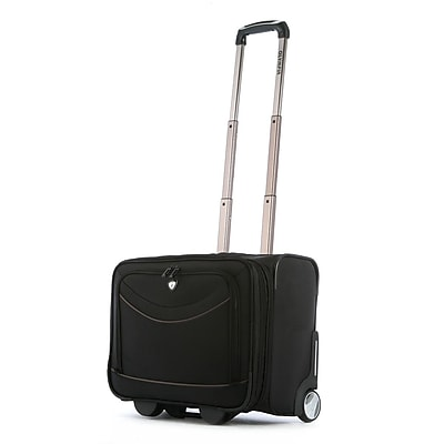 Olympia Luggage Deluxe Rolling Overnighter Bag