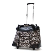 Olympia Deluxe Fashion Rolling Tote, 18.5""