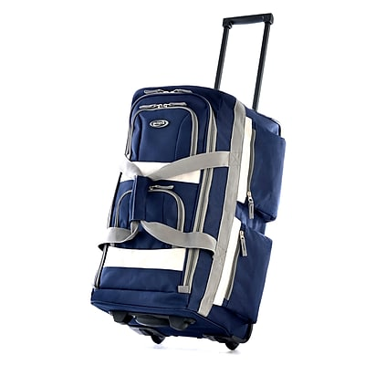 Olympia 8 pocket Carry On Rolling Upright Duffel Bag 22