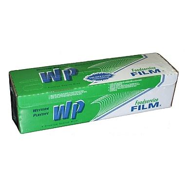 Western Plastics – Pellicule alimentaire en PVC avec tranche, 17 po x 2500 pi
