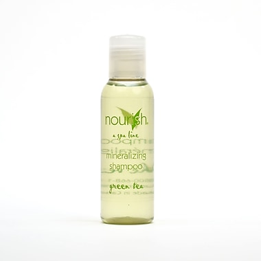 Nourish® Green Tea Shampoo, Clear, 1.1 oz., 200/Case
