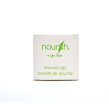 Nourish® Plastic Shower Cap, 500/Case