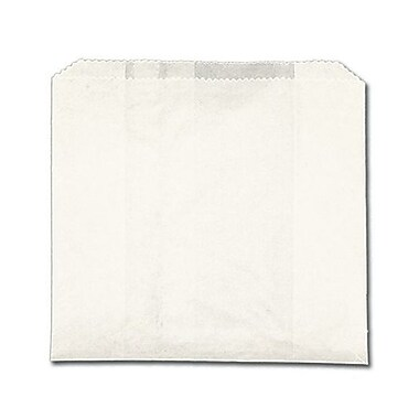 J.H.Mcnairn Pur Value 6 x 2 x 9 Giant Grease Resistant Sandwich Bag, White