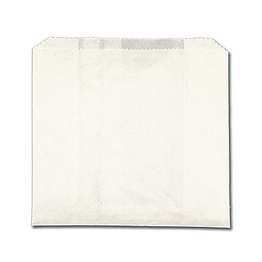 J.H.Mcnairn Pur Value 6 x .75 x 6.75 Regular Grease Resistant Sandwich Bag, White