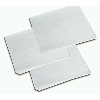 J.H.Mcnairn – Feuille de papier sulfite avec cire sèche, 14 x 14 po, blanc