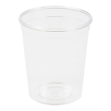 Polar plastique – Contenant à portion unique en polystyrène rigide Cometware, 2 oz, transparent