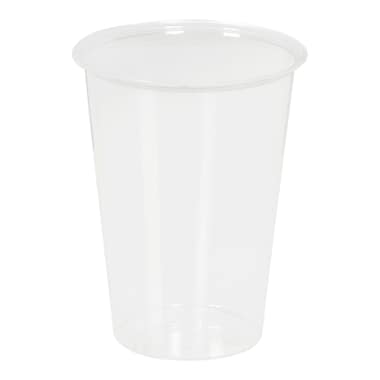 Polar Plastique – Verre en polystyrène XL, transparent, 12 oz