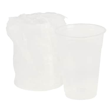 Polar Plastiques 9 oz. Polypropylene Wrapped Cup, Clear, 1,000/Case