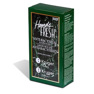 Kruger – Savon en mousse antibactérien Hands Fresh® de qualité supérieure, 800 L
