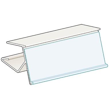 KostklipMD – Porte-étiquette angle 15° ClearVisionMD pour tablette de 0,5-0,75 po, 1,25 x 2 po, transp., 50/pqt (76WT-101236)