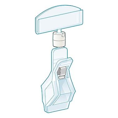KostklipMD – Porte-carte TwistKlipMC avec grande pince, 3 po, transparent, 50/paquet (124C-101749)
