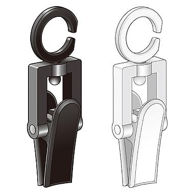 KostklipMD – SwivelKlipMC, 2 x 0,5 po, blanc, 100/paquet (CLIP-100555)