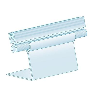 KostklipMD – Porte-affiche ajustable à manchon à chevalet, 3 x 3,5 po, transparent, 25/paquet (EADJ-104918)